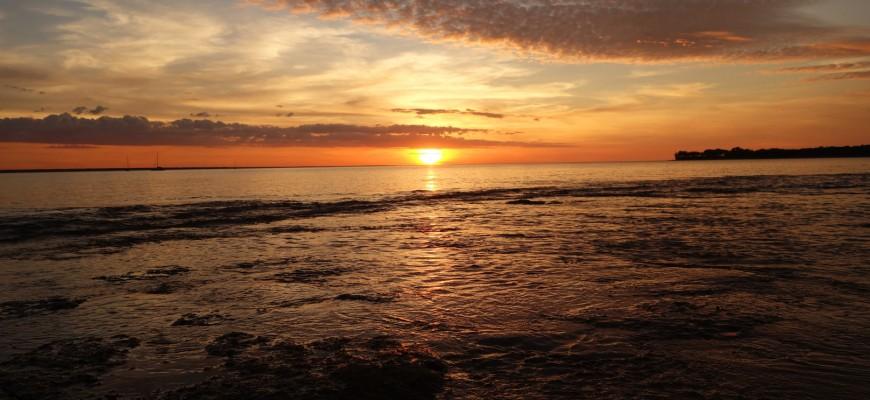 Coucher de soleil à Darwin