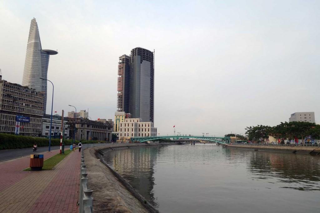 Saigon river - Ho Chi Minh