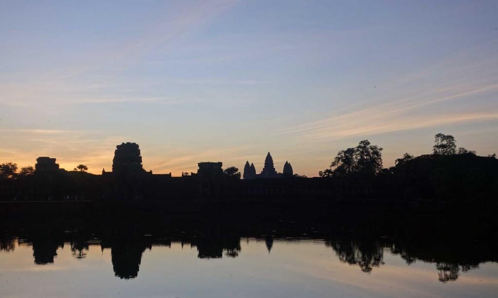 Ankgor Wat sunrise