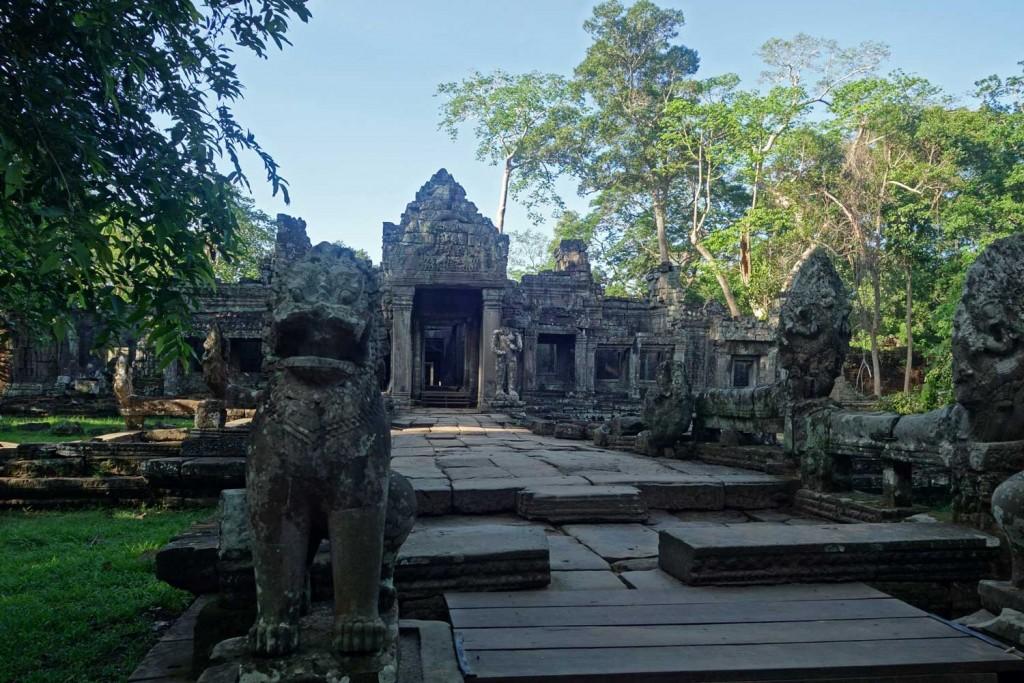 Preah Khan - entrance