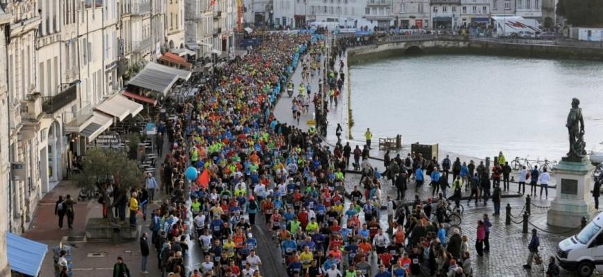 Départ du marathon de La Rochelle 2015